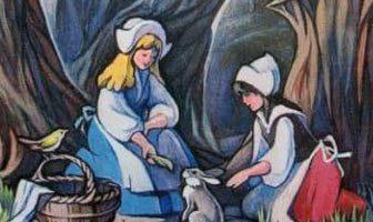 Сказка Белоснежка и Краснозорька — Братья Гримм. Читать онлайн.