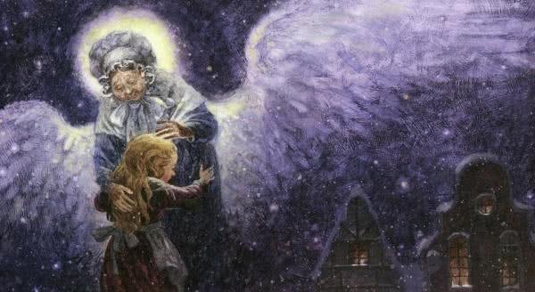 Сказка Девочка со спичками - Г.Х.Андерсен. Читать онлайн.
