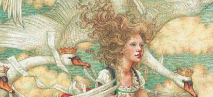Сказка Дикие лебеди — Ганс Христиан Андерсен