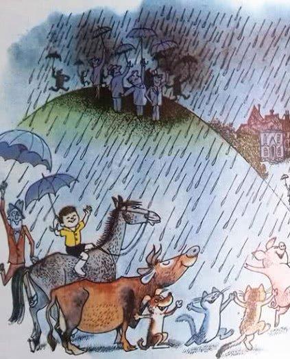 Сказка Дождь - Дональд Биссет