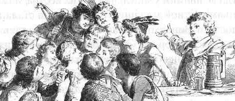Сказка Двенадцать братьев — Братья Гримм. Читать онлайн.