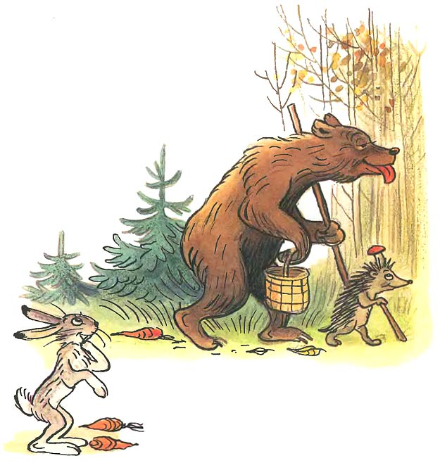 картинки к сказке заяц и медведь борцам-интернационалистам, защищавшим