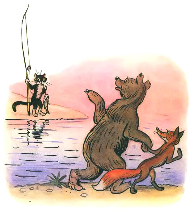 Сказка Дядя Миша - Сутеев В.Г. С иллюстраиями автора