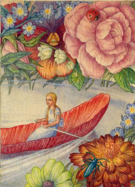 Сказка Дюймовочка - Г. Х.Андерсен. Читайте онлайн с иллюстрациями