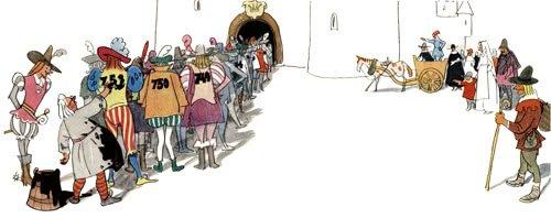Сказка Ганс Чурбан - Ганс Христиан Андерсен. Читать онлайн.