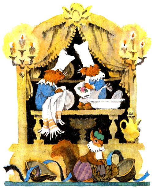 Сказка Карлик Нос - В.Гауф. Читайте онлайн с иллюстрациями.