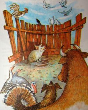 Сказка Картина - Толстой А.Н. Читать онлайн с картинками.