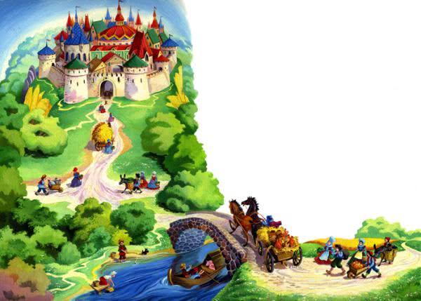 Сказка Король Дроздобород - Братья Гримм. Читать онлайн.