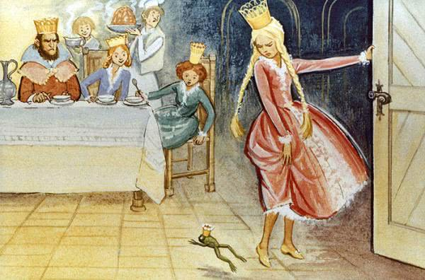 Сказка Король-лягушонок или Железный Генрих - Братья Гримм.