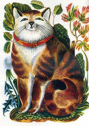 Сказка Кот Васька - Толстой А.Н. Читать онлайн.