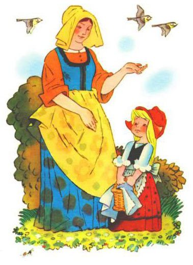 Сказка Красная шапочка - Шарль Перро. Читайте онлайн.