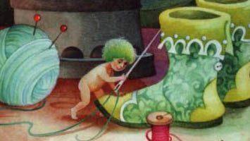 Сказка Маленькие человечки — Братья Гримм. Читать онлайн.
