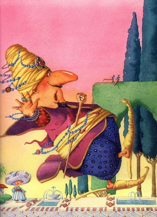 Сказка Маленький Мук - Вильгельм Гауф. Читать онлайн.