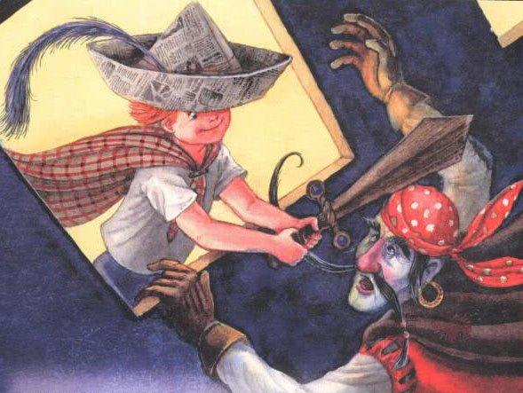 Сказка Нет разбойников в лесу - Астрид Линдгрен. Читайте онлайн.