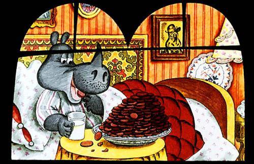 Сказка Носорог и добрая фея - Дональд Биссет. Читайте онлайн.