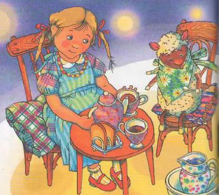 Сказка Орел и овечка - Дональд Биссет. Читайте онлайн.