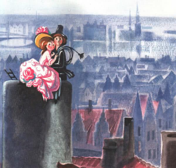 Сказка Пастушка и трубочист - Г.Х.Андерсен. Читайте онлайн.