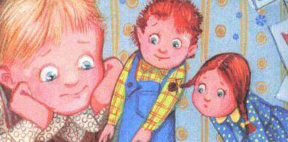 Сказка Петер и Петра — Астрид Линдгрен. Читать онлайн.