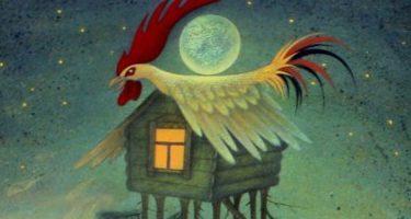 Сказка Петушки — Толстой А.Н. Читать онлайн с картинками.
