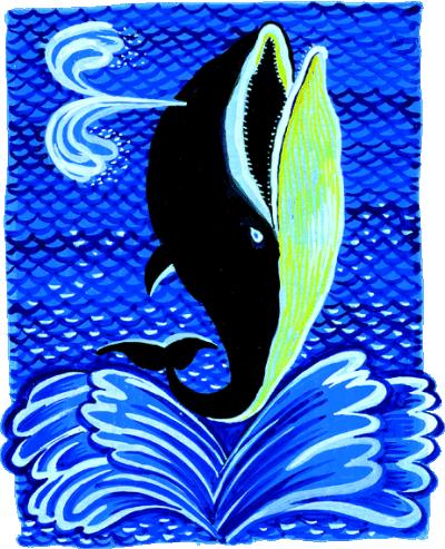 Сказка Почему кит ест только мелких рыбок - Редьярд Киплинг