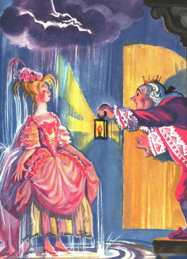 Сказка Принцесса на горошине - Г.Х.Андерсен. Читайте онлан.