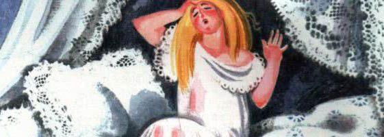 Сказка Принцесса на горошине — Г.Х.Андерсен. Читайте онлан.