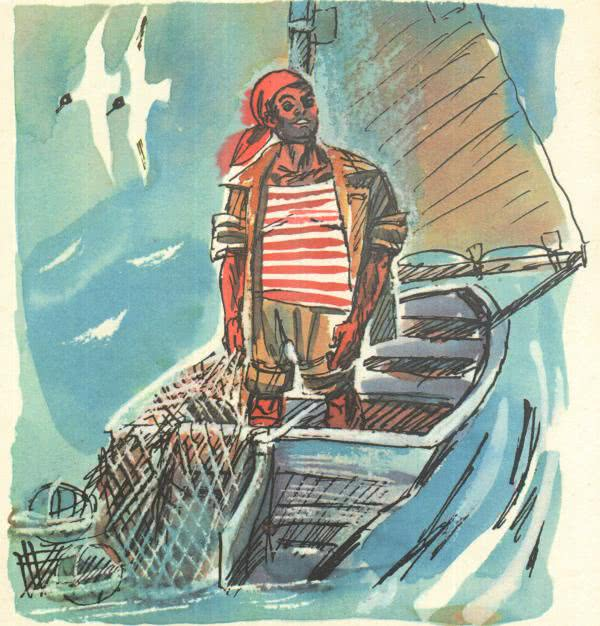 Сказка Рыбак из Чефалу - Джанни Родари. Читайте онлайн.