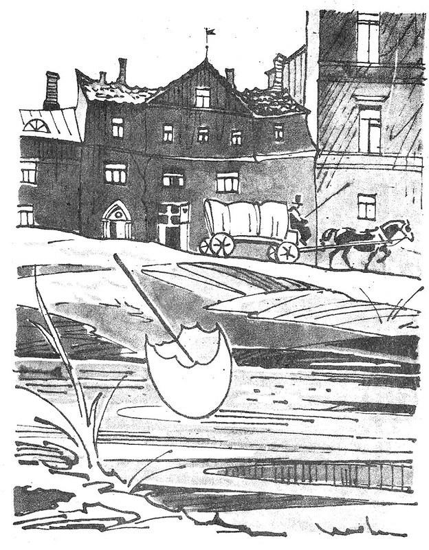 Сказка Штопальная игла - Ганс Христиан Андерсен. Читать онлайн.