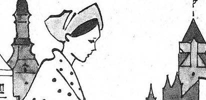 Сказка Штопальная игла — Ганс Христиан Андерсен. Читать онлайн.