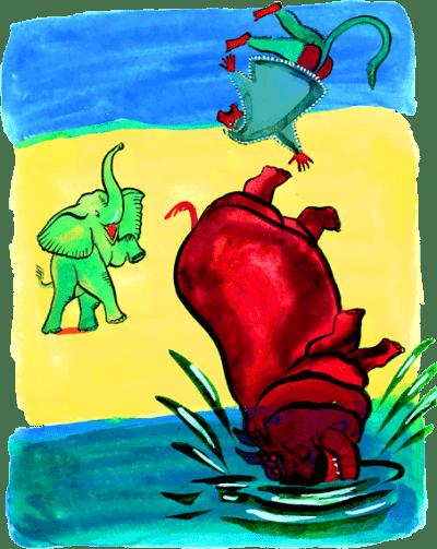 Сказка Слоненок - Редьярд Киплинг. Читайте онайн с картинками.