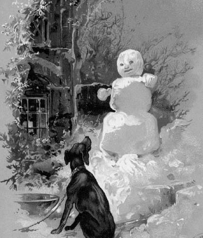 Сказка Снеговик - Ганс Христиан Андерсен. Читать онлайн.