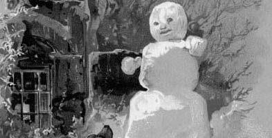 Сказка Снеговик — Ганс Христиан Андерсен. Читать онлайн.