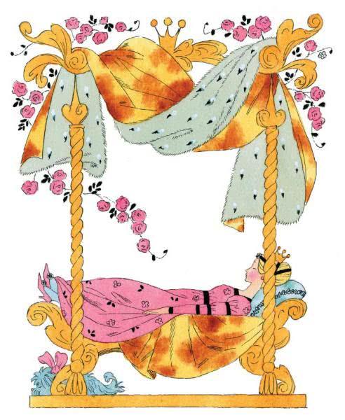 Сказка Спящая красавица - Шарль Перро. Читайте онлайн с рисунками.