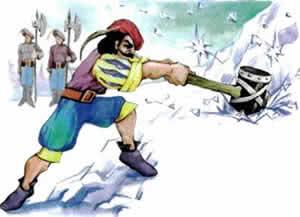 Сказка Старик из стеклянной горы - Братья Гримм. Читайте онлайн.