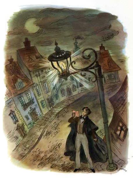 Сказка Старый уличный фонарь - Г.Х. Андерсен. Читать онлайн.