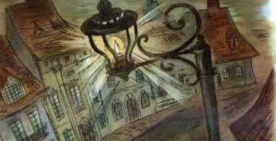 Сказка Старый уличный фонарь — Г.Х. Андерсен. Читать онлайн.