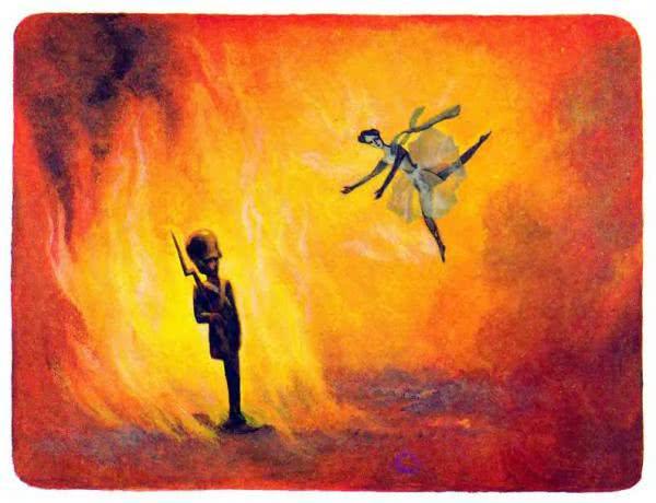 Сказка Стойкий оловянный солдатик - Ганс Христиан Андерсен