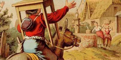 Сказка Столик, сам накройся, золотой осел и дубинка из мешка — Братья Гримм 0 (0)