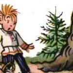 Сказка Страшный зверь - Сутеев В.Г. С иллюстрациями автора.