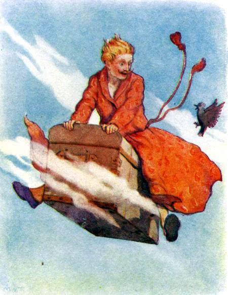 Сказка Сундук-самолёт - Ганс Христиан Андерсен. Читайне онлайн.