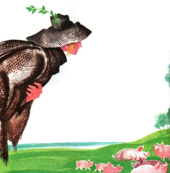 Сказка Свинопас - Ганс Христиан Андерсен. Читать онлайн.