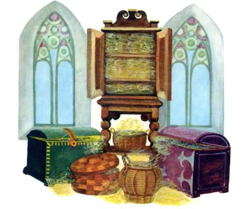 Сказка Три пряхи - Братья Гримм. Читать онлайн.
