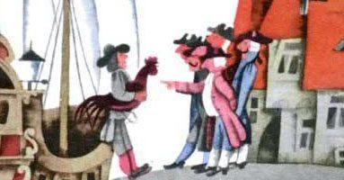 Сказка Три счастливчика — Братья Гримм. Читать онлайн.