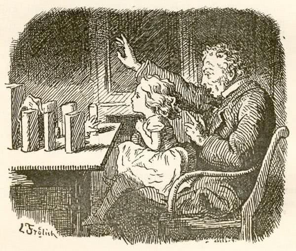 Сказка В детской - Ганс Христиан Андерсен