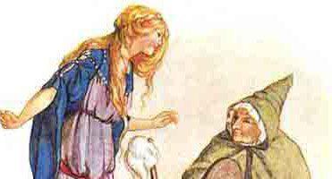 Сказка Веретено, ткацкий челнок и иголка — Братья Гримм