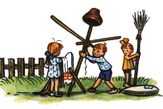 Сказка Весной - Сутеев В.Г. С иллюстрациями автора.