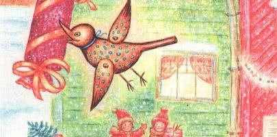 Сказка Весёлая кукушка — А.Линдгрен. Читайте онлайн с картинками. 5 (1)