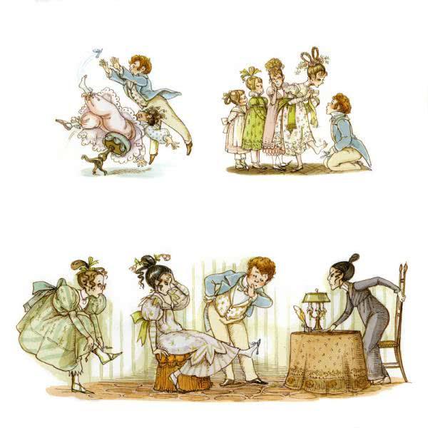 Сказка Золушка или хрустальная туфелька - Шарль Перро