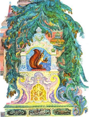 Сказка о царе Салтане - Пушкин А.С. Читайте онлайн с картинками.