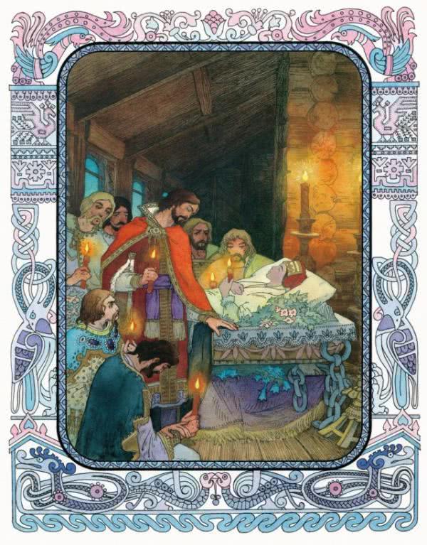 Сказка о мёртвой царевне и семи богатырях - Пушкин А.С. Читайте онлайн.